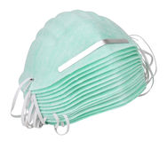 Industrial Dust Face Masks Stock Image
