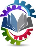 Industrial education logo Royalty Free Stock Photography