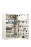 Industrial electrical switch panel Royalty Free Stock Image