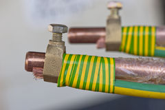 Industrial Electrode Stock Photo