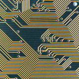 Industrial electronic green high-tech texture Stock Photography