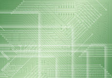Industrial electronic light green background royalty free stock photography