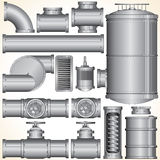 Industrial Elements Stock Images