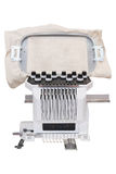 Industrial Embroidery Machine Royalty Free Stock Photo