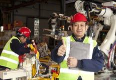 Industrial engineer Stock Image