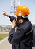 Industrial engineer Royalty Free Stock Image
