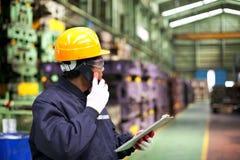 Industrial engineer Royalty Free Stock Photos