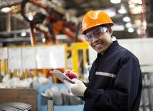 Industrial engineer Royalty Free Stock Photo