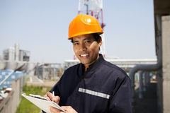 Industrial engineer stock photography