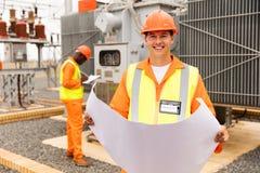 Industrial engineer working Stock Photos
