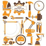 Industrial engineering concept Royalty Free Stock Images