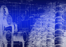 Industrial engineering technology Stock Photos
