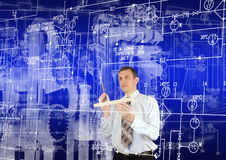Industrial engineering technology Stock Image