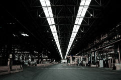 Industrial environment Stock Photography