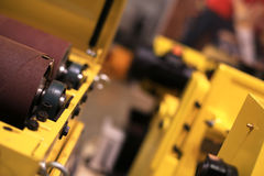 Industrial equipment. And construction tools at the factory Stock Photography