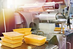 Free Industrial Equipment For Food Packaging Royalty Free Stock Photo - 124394655