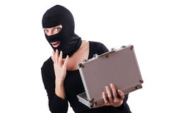 Industrial espionage concept Stock Photography