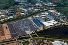 Industrial estate. In Rayong Thailand Stock Image