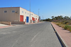 Industrial Estate Royalty Free Stock Images