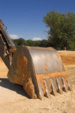 Industrial Excavator Royalty Free Stock Photo