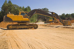 Industrial excavator Royalty Free Stock Image