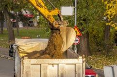Industrial excavator Stock Photo