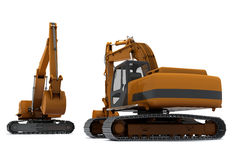 Industrial excavators Stock Photography
