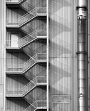 Industrial Facade Stock Photography