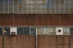 Industrial facade Royalty Free Stock Photos