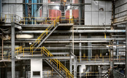 Industrial factory Stock Image