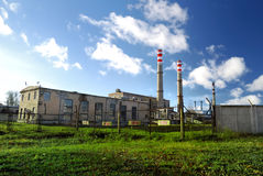 Industrial factory Stock Images