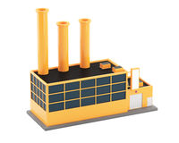 Industrial factory building Stock Photo