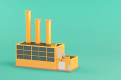 Industrial factory building Royalty Free Stock Photography