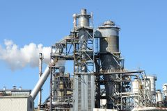 Industrial Factory Exterior Stock Images