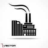 Industrial factory icon Stock Photo