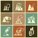 Industrial Factory Royalty Free Stock Photo