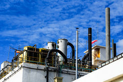 Industrial Factory 3. Industrial plants that have environmental management systems in the provinces of Thailand Stock Photos