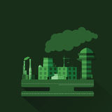 Industrial factory v.11 Royalty Free Stock Images