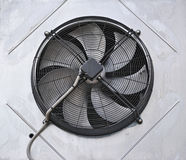 Industrial fan. In the wall royalty free stock photos
