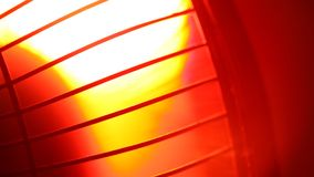 Industrial Fan. Close up of an electric Industrial Fan stock footage