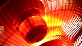 Industrial Fan. Close up of an electric Industrial Fan stock video