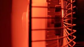 Industrial Fan. Close up of an electricIndustrialFan stock footage