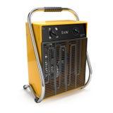 Industrial fan heater 3d Royalty Free Stock Photo