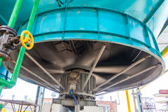 Industrial fan refrigeration equipment chemical production. Voronezh Sibur Royalty Free Stock Photos