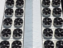 Industrial fans Stock Images