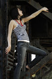 Industrial Fashion Royalty Free Stock Photography