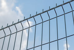 The Industrial fencing Royalty Free Stock Photo