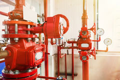 Industrial fire control system Stock Photos