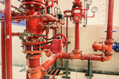 Industrial fire control system Royalty Free Stock Photography