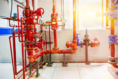Industrial fire control system Royalty Free Stock Photos
